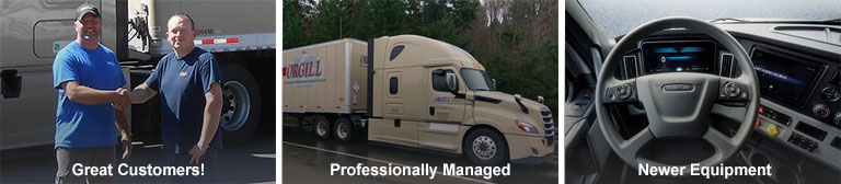 Truck Driver with Customer | Newer Truck | Electronic Logs