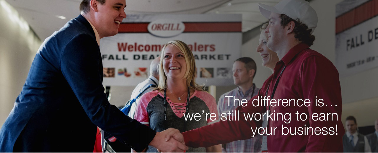 Orgill will always work to earn your business.