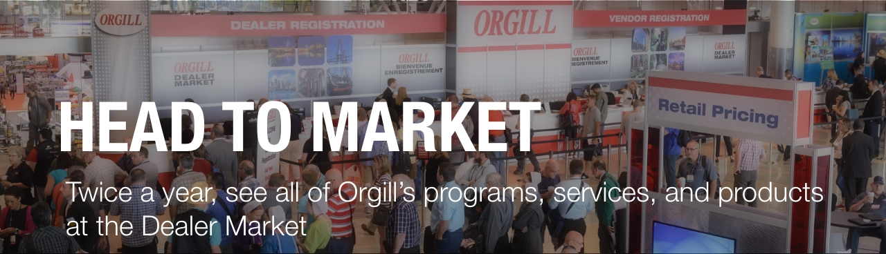 Head to Market Twice a Year to See All of Orgill's Programs, Services, and Products at the Dealer Market